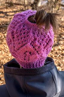 Pink Ponytail Hat