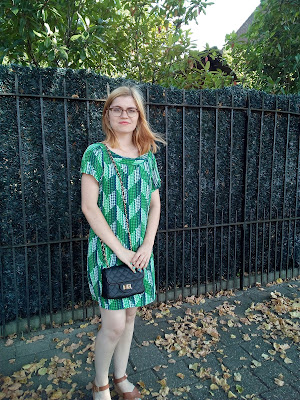 Green Vero Moda Dress OOTD WIW What I'm Wearing