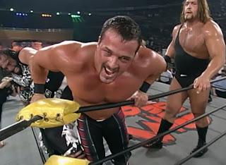 WCW World War 3 1997 - Randy Savage, Buff Bagwell, The Giant in th 60 man battle royal