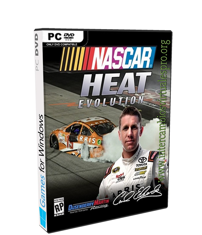 NASCAR Heat Evolution poster box cover