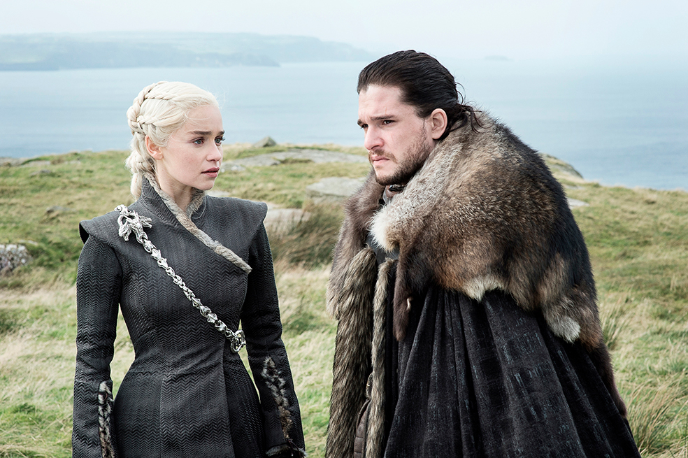 Daenerys y Jon (Game of Thrones)