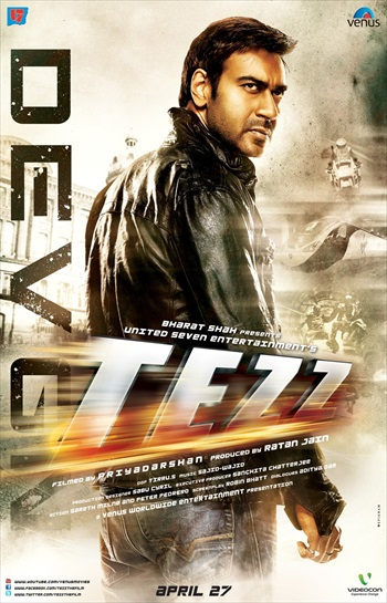 Free Download Tezz 2012 Hindi 720p  850mb