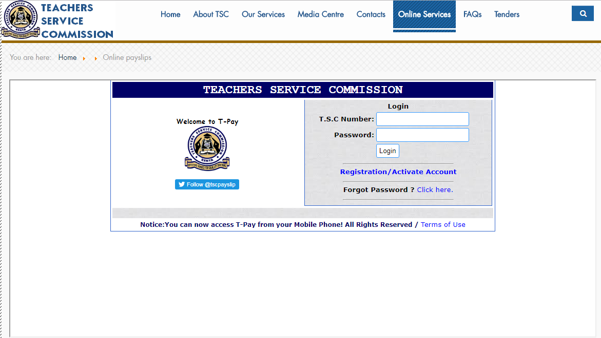 Teachers, Have You Registered For The TSC Online Payslip System?