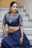 Ruchi Pandey in Blue Embrodiery Choli ghagra at Idem Deyyam music launch ~ Celebrities Exclusive Galleries 048.JPG