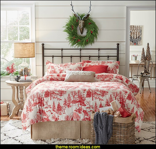 natural style decorating christmas