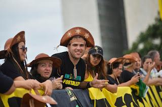 Caravanas de todo o país chegam para a posse de Jair Bolsonaro