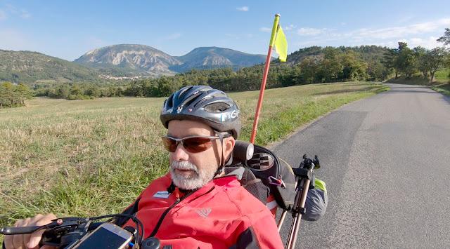 Voyage à vélo de la Bourgogne à la Provence, Buëch