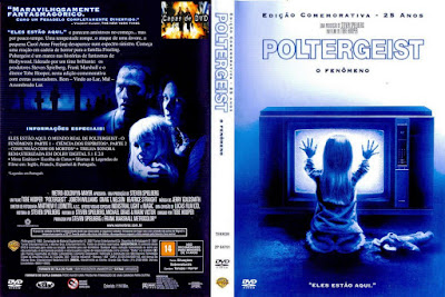 Filme Poltergeist - O Fenômeno (1982) DVD Capa
