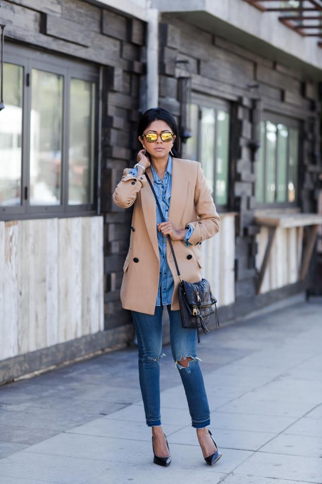 Blazer Front Row Jeans Urban Outers Shoes Zara Bag Joelle Hawkens Via Bloomingdales Sunnies Made Eyewear