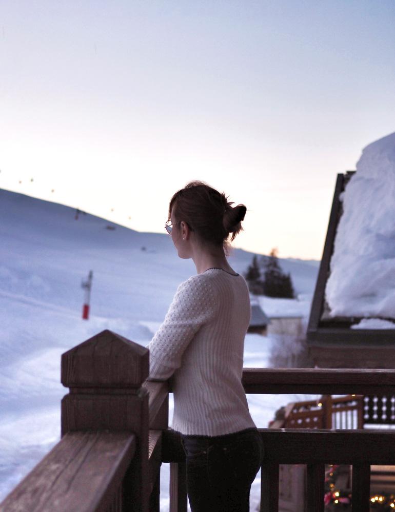 Une belle soirée dans un chalet, au pied des pistes de ski, à Courchevel
