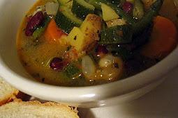 Provençal Bean and Vegetable Soupe au Pistou