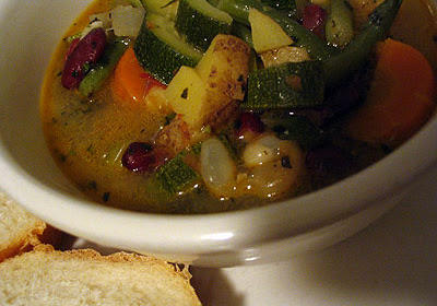 Provençal Bean and Vegetable Soupe au Pistou