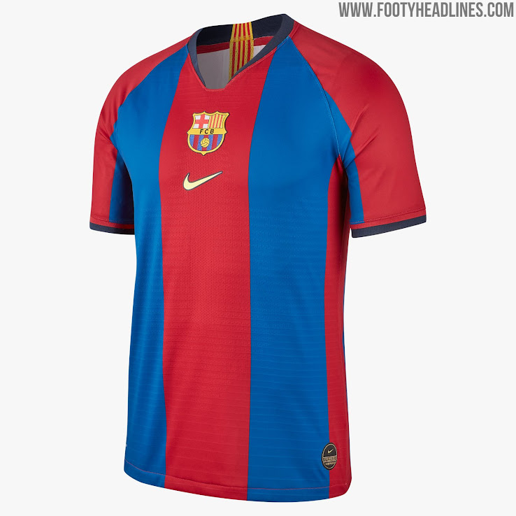 bf9a45926d0 Special-Edition Nike FC Barcelona 1998-99 Remake Kit Released ...