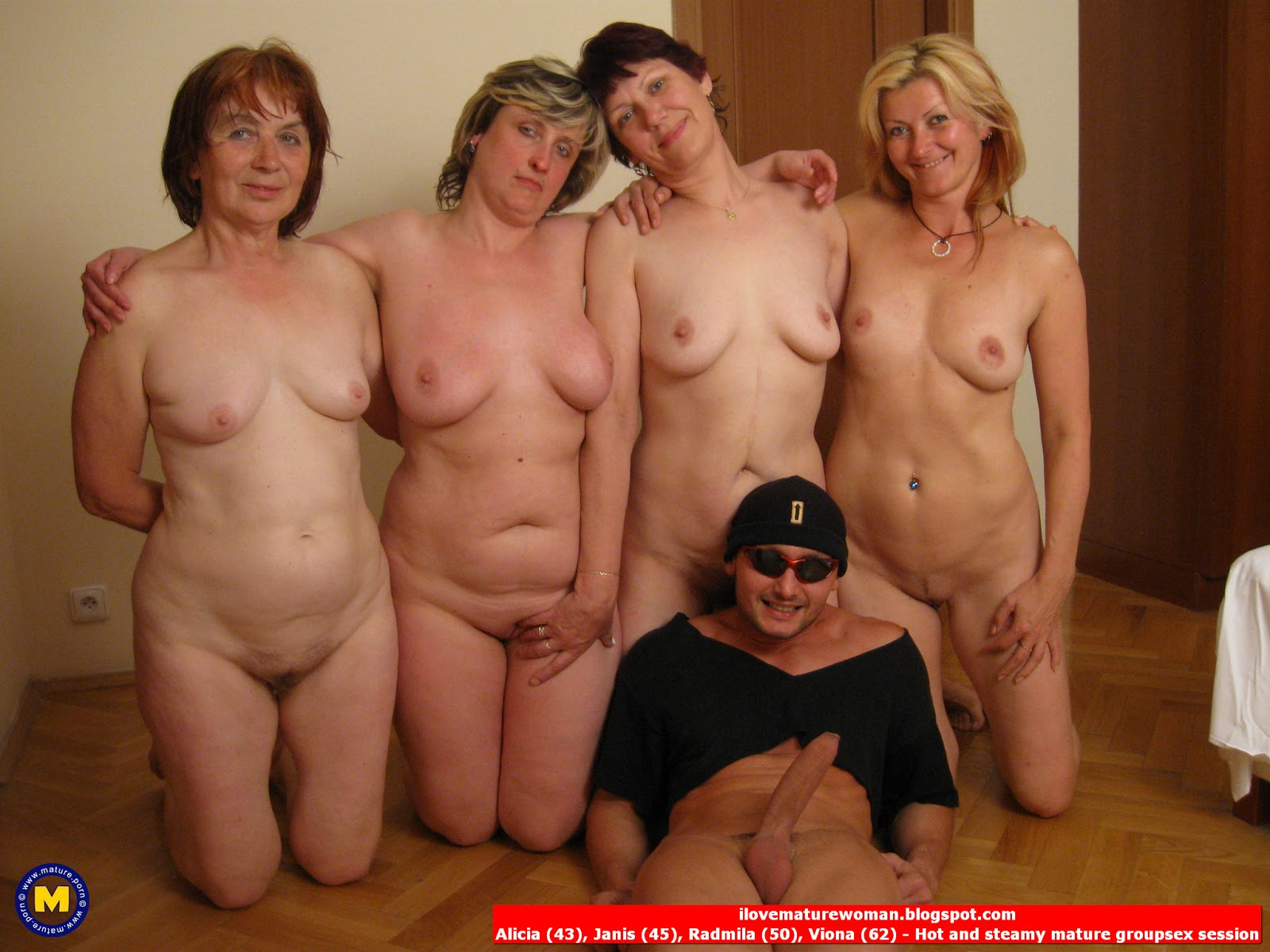 Mature Nude Group