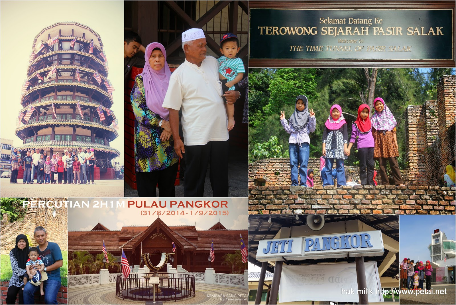 Percutian 2H1M Pulau Pangkor