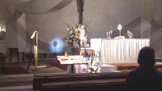 Nuit d'adoration du Saint Sacrement, avec Saint Michel