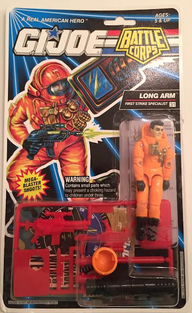 1993 Long Arm, MOC, DEF