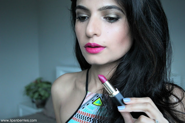 Loreal paris color riche matte addiction lipstick 463 plum tuxedo review