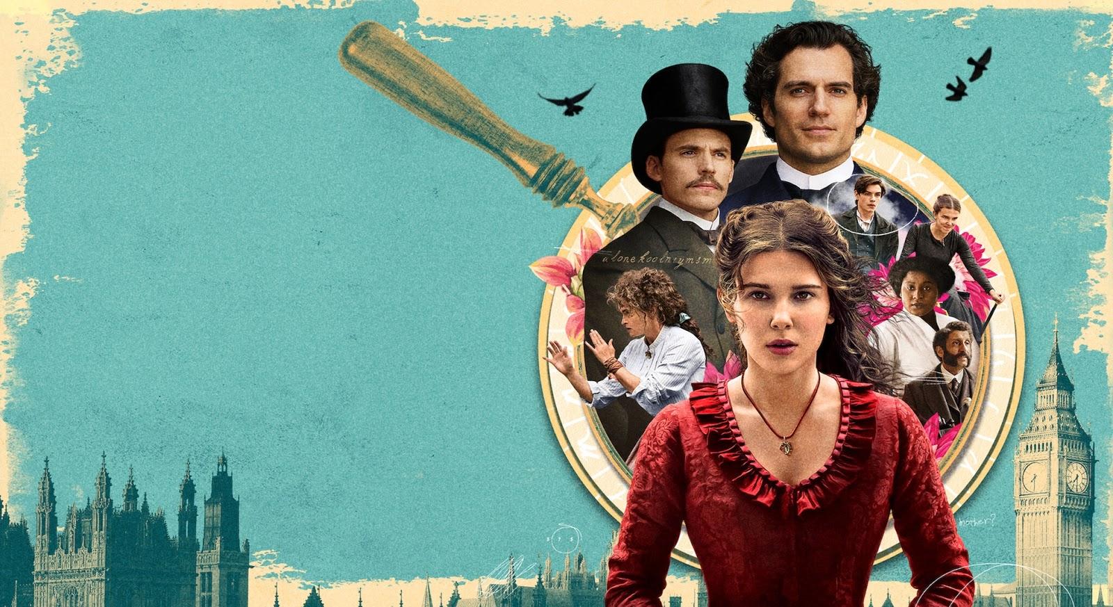 Netflix | Millie Bobby Brown é ENOLA HOLMES