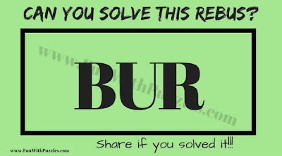 Can you find the hidden meaning of this Rebus Puzzle Question?