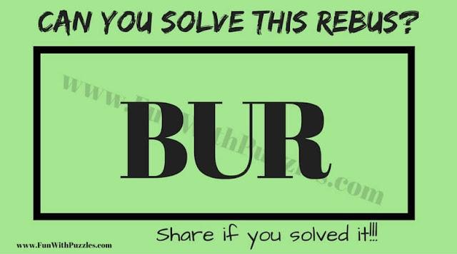 Rebus Puzzle Question