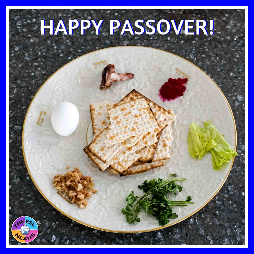 Happy Passover to all! | The ESL Nexus