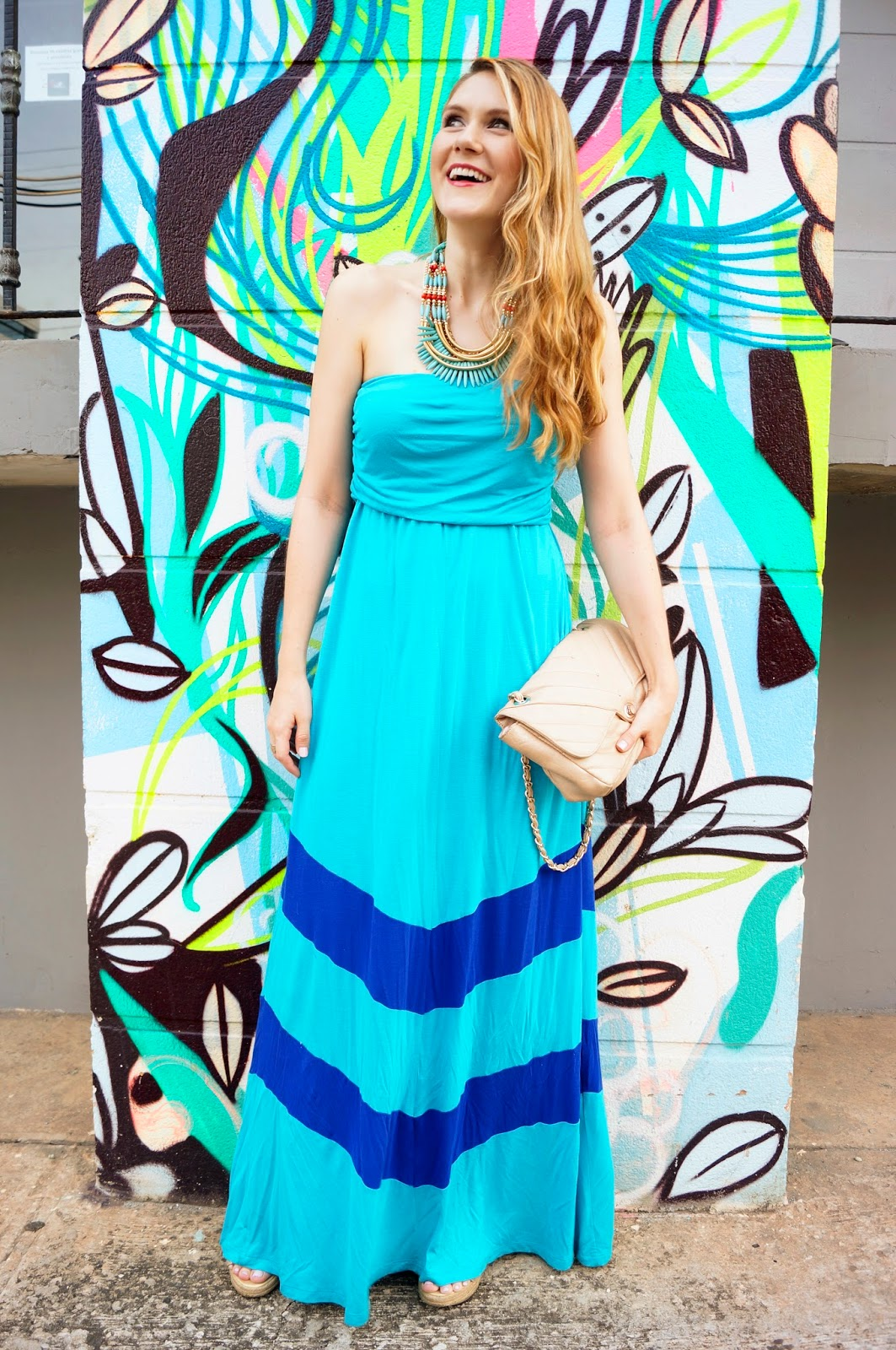 Loving maxi dresses for Summer!