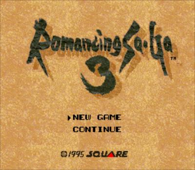 【SFC】復活邪神3(浪漫傳說3、浪漫沙加3)+金手指+攻略,Romancing Saga 3!