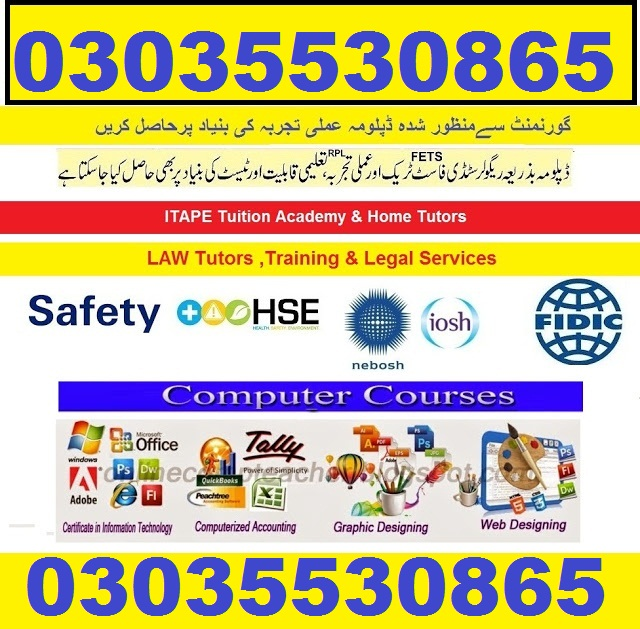 Safety officer course-Safety inspector course In Pakistano3145228191,