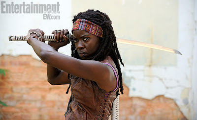 The Walking Dead: prima immagine di Michonne dalla terza stagione !!!
