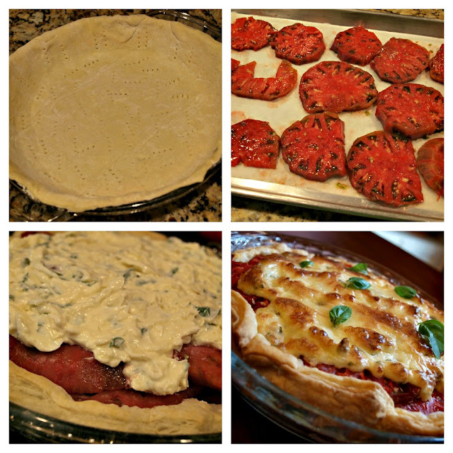 Instructions for Summer Tomato Pie