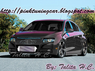 pink tuning car chevrolet cruze tuning. Black Bedroom Furniture Sets. Home Design Ideas