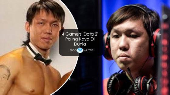 4 Gamers 'Dota 2' Paling Kaya Di Dunia