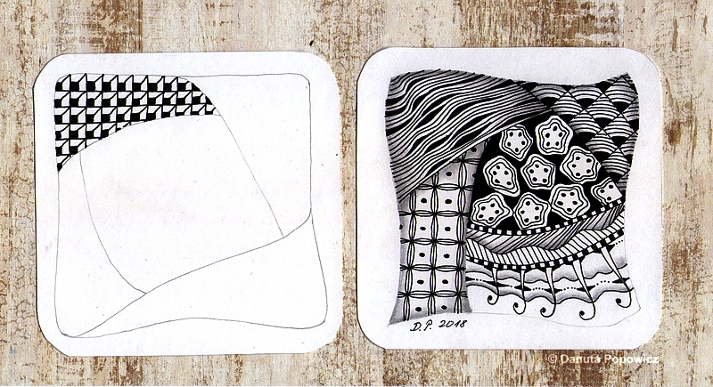 Wzory Zentangle