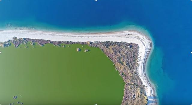 Αλυκή Αίγιο: Για τα μάτια σας μόνο και με το πινέλο της φύσης (βίντεο drone)