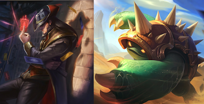 Twisted Fate ve Rammus ikilisi