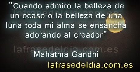 Mensajes motivadores de Mahatma Gandhi