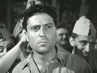Raffaele Vallone, pictured in a scene from the Giuseppe de Santis neo-realist movie Bitter Rice