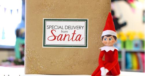 Freebielicious Classroom Elf Special Delivery From Santa