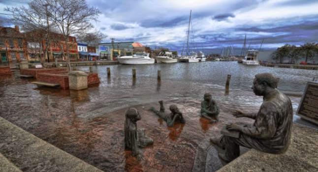 mar - Cambio climático trae inundaciones de más de 2 metros además del alza del mar