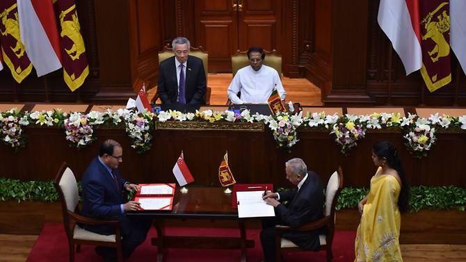 Singapore and Sri Lanka sign free trade agreement