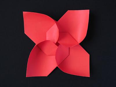 Origami, vista 1, Girandola modulare, variante - Modular Pinwheel, variante by Francesco Guarnieri