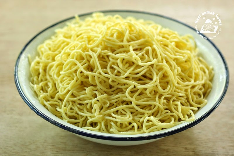Nasi Lemak Lover: Homemade Chinese egg noodles 全蛋面 / 油面