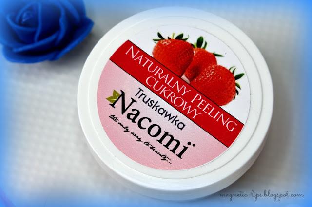 truskawka peeling naturalny