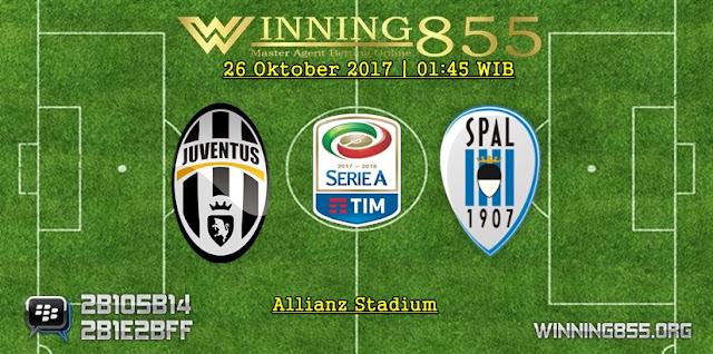 Prediksi Skor Juventus vs Spal | 26 Oktober 2017