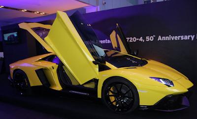 Inilah 8 Merek Mobil Termahal di Indonesia - Lamborghini Aventador LP 720-4