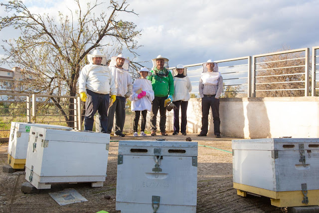 """Πρακτική εκπαίδευση των σπουδαστών  του τμήματος """"Τεχνικός Μελισσοκομίας"""" του ΔΙΕΚ Ναυπλίου"""