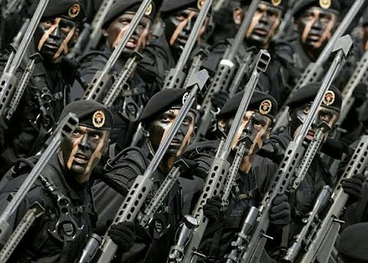 2017, Kekuatan Militer Indonesia Menjadi Yang Terkuat ke-14 Dunia