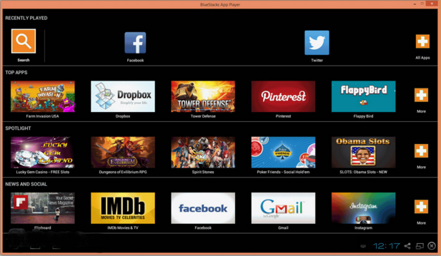 BlueStacks App Player (Screenshot 2)