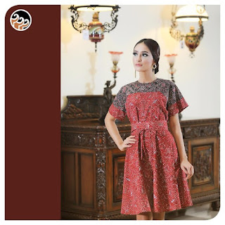 model baju batik keris untuk wanita